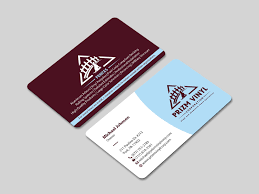 Graphic Design In York Pa Business Card Design For Prizm Vinyl Corporation By Mdesign