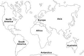 Small Picture coloring pages 7 continents 90 Social Studies Pinterest