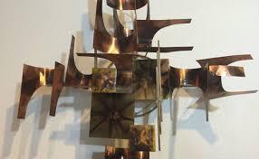 sold mid century metal wall art on mid century wall art metal with sold mid century metal wall art modern to vintage