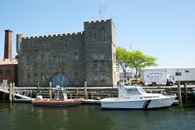 the bristol maritime center occupied a former armory