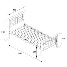 Measurements Of Full Size Bed Frame Dimensions Full Size Bed