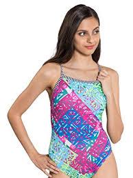 Delightful Dolfin Uglies Swimsuit V 2 Back | AMZ9502L (24, Indio)