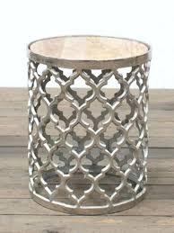chrome side table chrome lattice side table gold marble top chrome and glass side tables australia chrome side table