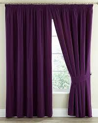 velour pencil pleat curtains