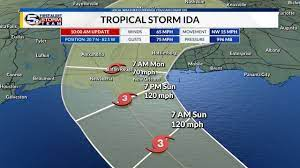 Rapidly intensifying hurricane ida struck cuba on friday and was on track to speed across the warm waters of the gulf of mexico and slam into louisiana as a category 3 storm on sunday, the. Cgqbbek0ol27am