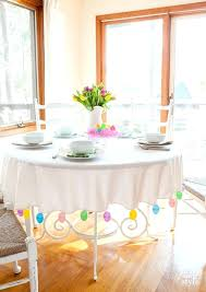 easter table cloth table and decorating ideas in my own style 90 inch round easter tablecloth