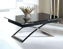 Extending Coffee Table Coffee Table Dwell Rise Extending Coffee Table Whiteextending