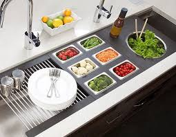 large kitchen sink. Galley-Ideal-Workstation-6-large-kitchen-sink-salad- Large Kitchen Sink I