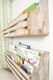 diy wall mounted bookshelves refresh