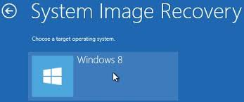 windows 8 advanced startup troubleshoot advanced options system image recovery
