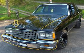 Changing from 77-79 Front End to 80-90 Front End - Chevy Impala Forums