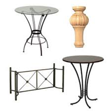 support cylinders table bases dining table bases
