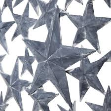 americano rustic grey metal star home wall art home33 decorations accessories