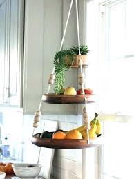 hanging fruit basket kitchen always counter for