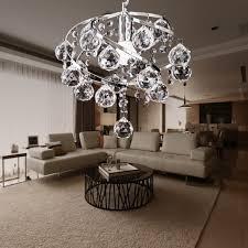 modern crystal pendant light ceiling lamp chandelier dining living room lighting