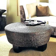 wicker cocktail table round wicker coffee table glass top coffee regarding popular household round wicker coffee table glass top remodel