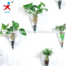 wall hanging vase manufacturers ing hanging glass wall hanging vases conical vase suspension conical vase wall mounted flower vase for