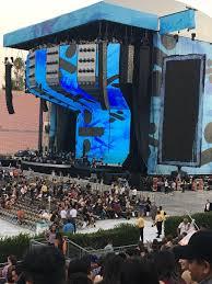 Rose Bowl Section 18 H Row 18 Seat 115 Ed Sheeran Tour