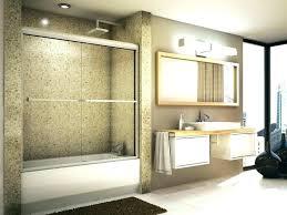 tub glass door bathtub installation