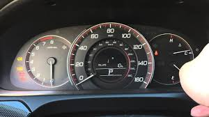 How To Reset Maintenance Light On Honda Accord Honda Accord 2013 2014 2015 Reset Oil Light Life 100