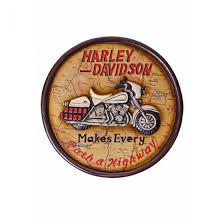 harley davidson wall art style