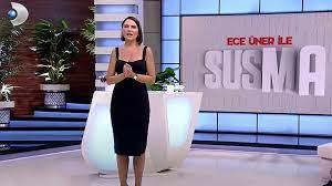 Kanal D'de yayınlanan Ece Üner'in yeni programı Susma'da istifa depremi