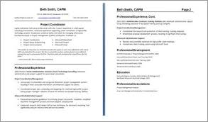One Or Two Page Resume