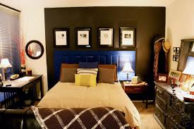 black and white master bedroom decorating ideas. Small Master Bedroom Decorating Ideas Grey Covered Bed Covers White Comfortable Bedding Sheet Red Black Laminated Frame Headboard And A