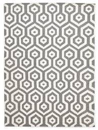 carlos felted wool rug grey natural white