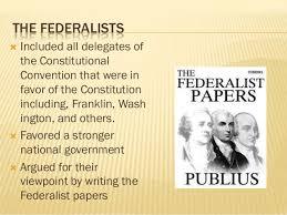 anti federalist vs federalist essay