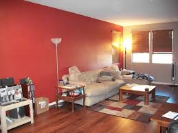 Living Room With Red Modern Style Red Wall Living Room Red Wall Living Room