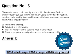 question no 3 you create a new custom eny and add it to the sitemap