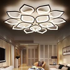 contemporary modern led lighting new acrylic l e d ceiling light for living room bedroom plafond home lamp