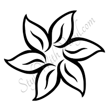 Easy To Draw Roses Simple Flower Drawing Easy Drawings Flowers Cute 970 X 889 Attachments