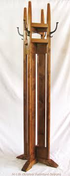 Cast Iron Tree Coat Rack SOLD Handmade Coat Tree With Shelves Alder Wood 100 Cast Iron Hook 84