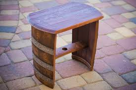 2 wine barrel chairs 23 genius ideas to repurpose old wine barrels into cool things arched napa valley wine barrel table