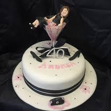 Champagne Glass Birthday Cake M Rays Bakery