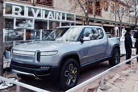 Rivian R1T Electric Pickup Truck Shows Off At X Games