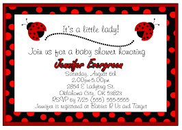 Ladybug Baby Shower Invitation Design  Kustom KreationsFree Printable Ladybug Baby Shower Invitations