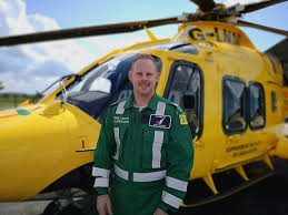 Air Force Paramedic Lincs Notts Air Ambulance Welcomes New Paramedic To Team