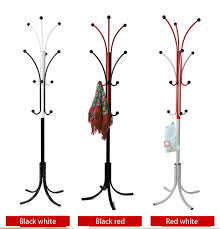 Stand Coat Rack Two Color Fashion Metal Coathat Rack Cheap Metal Coat Stand Clothes 38