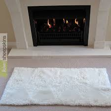 hearthrug diamond pattern rug designer sheepskin rugs kiwi sheepskins