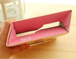Magazine Holder Cardboard magazine holder storage box corrugated paper cardboard box A100 90