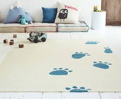 image of navy blue nursery rug