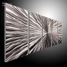 wall art mesmerizing pictures about modern metal silver five piece with wonderful effect crossroads insero home decoration electric best furniture interior