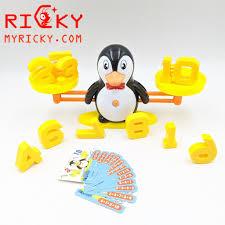 Đồ chơi chim cánh cụt toán học - Cân toán học