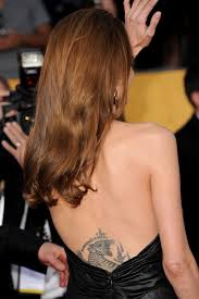 Angelina Jolie Tiger Tattoo 108 Images In Collection Page 2