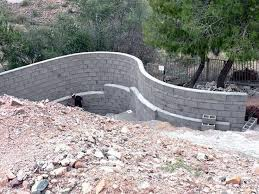 Small Picture The 25 best Concrete block retaining wall ideas on Pinterest