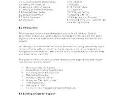 Grant Proposal Cover Letter Sample Restaurant Business Plan