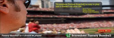 Scoresheet Fantasy Sports | Fantasy Baseball, Football And Hockey